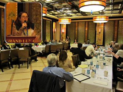 タイムシェアリセール業者協会の会議